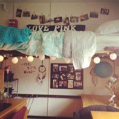 dorm room | Tumblr Dorm Room Tumblr, Tumblr Bedroom, Tumblr Rooms, Dorm Life, College Life, Dorm Design, Cool Dorm Rooms, College Dorm Rooms, Dorm Decorations