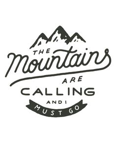 The Mountains Are Calling Mens Baseball
