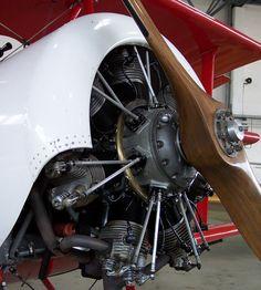 Detail:-  File:Siemens Sh 14 in einer Fokker Dr. 1 Replika.jpg
