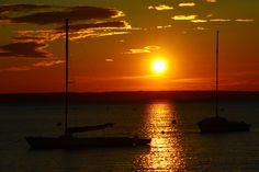 Sunset, Nord coast