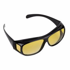 912a30bfa51 New HQ Night Driving Glasses Anti Glare Vision Driver Safety Sunglasses  Classic UV 400 Protective Glasses Goggles Brand new and high quality  General Type ...