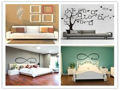 Fashion Circles Mirror Style Removable Decal Vinyl Art Wall Sticker Home Decor #UnbrandedGeneriProduct