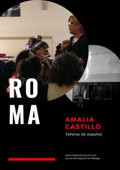 Amalia Castillo, profesora y responsable del Departamento de Metodología y Didáctica, impartiendo un divertido taller de español para profesores en Roma. We Are The Champions, Work Hard, Workshop, Around The Worlds, Movie Posters, Movies, Teachers, Castles, Hilarious