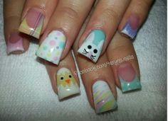 Easter nails 2014