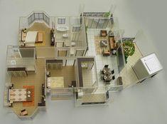 scale models buildings | model-building, Architectural Model, Scale Model, Model Maker