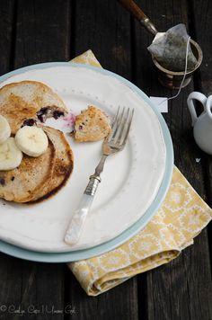 Almond Buttermilk Pancakes