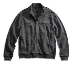 Lucky Brand Moto Cafe Racer Jacket Mens