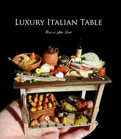 Luxury Rustic Italian Table♡ ♡ afterdarkafterall