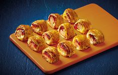 Tis still the season, make use of your Christmas leftovers with these scrumptious festive rolls.