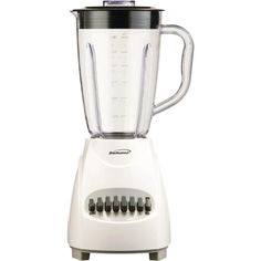 Brentwood 12-speed Blender With Plastic Jar (white)