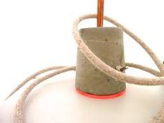 Bildergebnis für lampe beton
