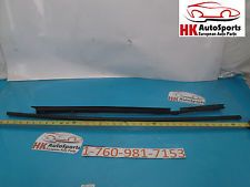 BMW E46 323I 325I 328I 330 REAR RIGHT EXTERIOR WINDOW CHANNEL TRIM WEATHER STRIP