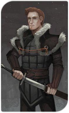 "baratheon: "" Alistair's tarot card makes me really sad. """