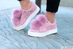 I love, love, love my Sam Edelman Leya Pom Pom Sneakers Fab Shoes, Pretty Shoes, Crazy Shoes, Sock Shoes, Me Too Shoes, Shoe Boots, Pom Pom Sneakers, Shoe Game, Baskets