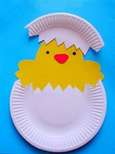 Easter crafts with children - 40 creative ideas - Alleideen Osterbasteleien mit Kindern - 40 kreative Ideen deco ideas easter easter decoration easter tinker with children Easter Art, Easter Crafts For Kids, Toddler Crafts, Children Crafts, Easter Ideas, Diy Crafts To Do, Arts And Crafts, Creative Crafts, Paper Plate Crafts
