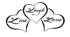 live laugh love tattoos