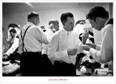REQUIRED: groom and groomsmen getting ready