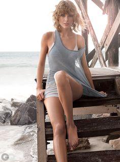 Taylor Swift's GQ Beachside Photo Shoot | GQ