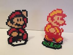 Super Mario Bros 3 Power Up Perler Bead di ThePixelizedPrincess
