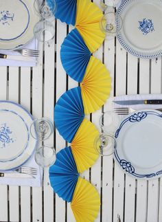 Make A Table, Paper Crafts, Diy Crafts, Tablescapes, Party, Table Settings, Diy Projects, Inspiration, Table Decorations