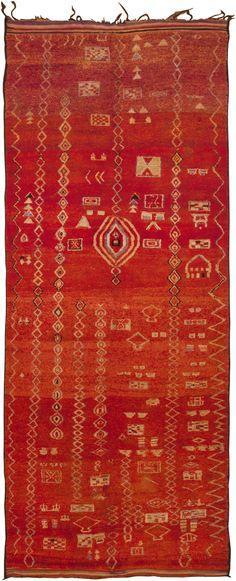 Vintage Moroccan Rug 45742 - by Nazmiyal