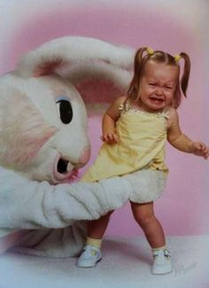 Easter Bunny attack!