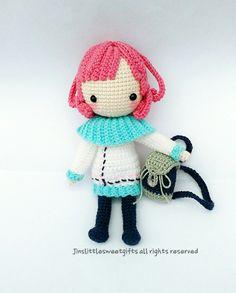 #crochetaddict#amigurumiaddict#handmade#amigurumi#crochet#編みぐるみ#编织人生#钩针乐#手作り#纯手作#kawai#örgū#häkeln#haken#手编娃娃#art#doll#手编玩偶 #keychaindoll#pattern#图解#Cheryl#MangaGirl#漫画迷#雪丽儿#