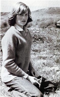 Princess Diana as a young girl