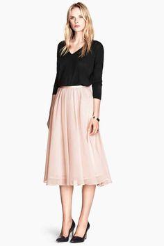 Falda hasta el tobillo | H&M
