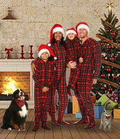 d10781d27c38 18 Best Christmas Footed Pajamas for Adults images