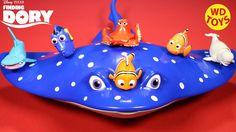 New Finding Dory Disney,Pixar 5 Swigglefish Bailey,Dory,Hank,Destiny,Nem...