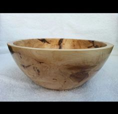 """Custom Maple burl fruit/salad bowl. 9"""" diameter by 4 """" deep. Handcrafted. One of a kind."""