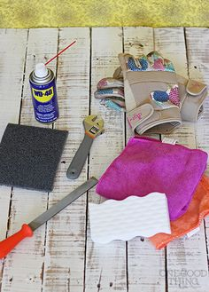 Getting Your Gardening Tools in Shape For Spring!