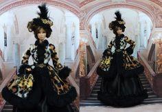 Robe   Svetlana  tenue pour Barbie Silkstone Fashion Royalty