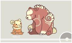 Pokemon Redesign #216-217 - Teddiursa, Ursaring