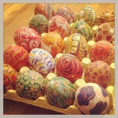 Eggs for Easter! BB. Borgonuvola #italy #udine