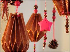 Papierové skladaná selbermachen Mobile Tinker Tinker hviezda vianočné hviezdy Plisse Tinker pokyny 1