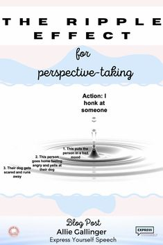 The Ripple Effect for perspective-taking - Guest post from Allie Gallinger, Express Yourself Speech. Allie explains the strategy and provides videos to use when teaching students. Receptive Language, Speech And Language, Speech Therapy Activities, Language Activities, Perspective Taking, Feeling Scared, Feeling Frustrated, Emotional Regulation, How To Play Minecraft