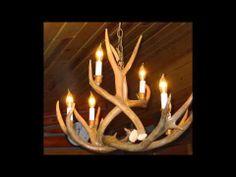 Deer antler chandelier by optea-referencement.com