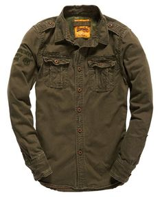 Superdry Military Artillery Shirt