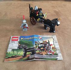 7949 Lego Complete Prison Carriage Rescue castle knight kingdoms instructions #LEGO