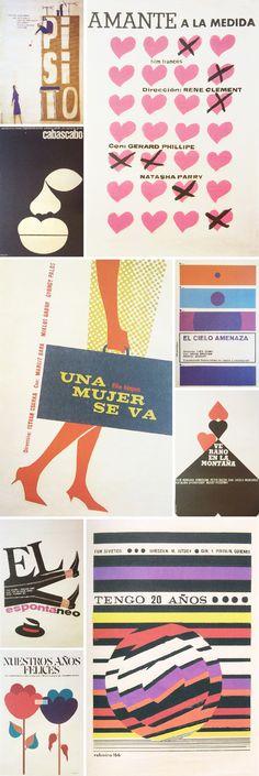 vintage silkscreen cuban film posters via kate spade
