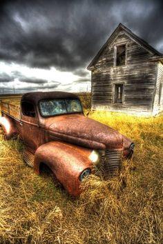 Farm land in North Dakota