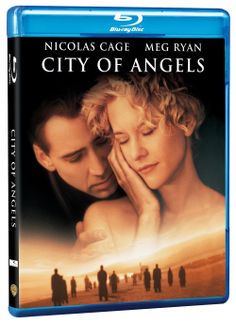 """""""She didn't believe in angels until she fell in love with one."""" Pre-order City of Angels on Blu-ray: http://www.wbshop.com/product/city+of+angels+bd+1000437345.do #CityofAngels #NicolasCage #MegRyan #love #romance #swoon"""