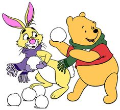 Image result for pooh snowball clip art