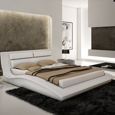Neilson Upholstered Platform Bed