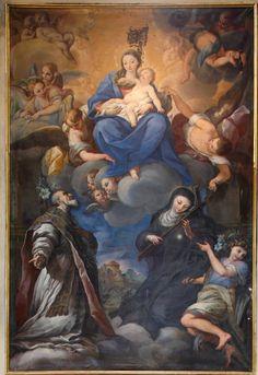Curradi Francesco - Visione di San Filippo Benizi, XVII secolo - Siena - Basilica di Santa Maria dei Servi