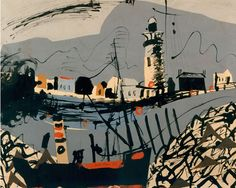 Two key pieces by British artist John Piper have been bought for contemporary art museum Towner in Eastbourne… John Piper Artist, Art Fund, Newhaven, First Art, Artist At Work, Landscape Paintings, Landscape Art, Art Museum, Contemporary Art