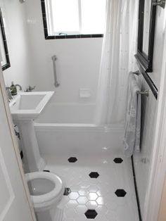 Good Home Construction's Renovation Blog: Classic 1940s-Era Cottage Bungalow Bathroom