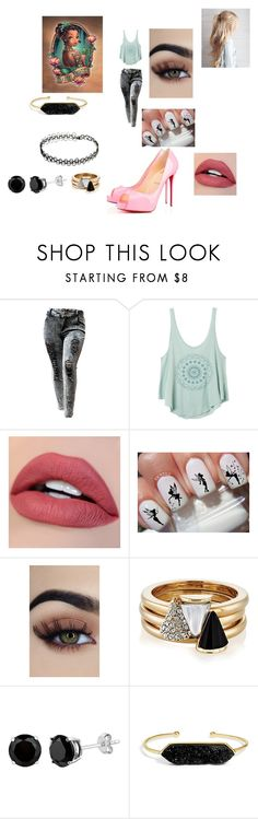"""Lily Dream"" by hannah-may-malone on Polyvore featuring RVCA, Disney, Brixton, BaubleBar and Privé"